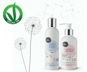 Prodotti naturali per l'igiene dei bambini